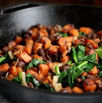 Spinach and Sweet Potato Delight
