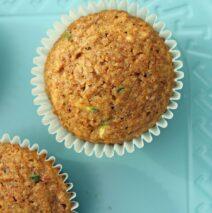 Sarda's Zucchini Muffins